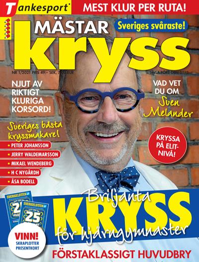 Cover for Mästarkryss