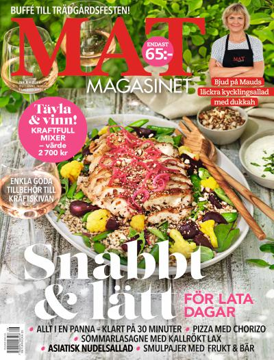 Cover for Matmagasinet