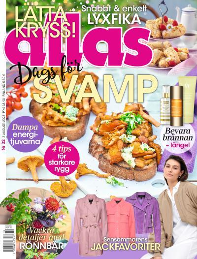 Cover for Allas