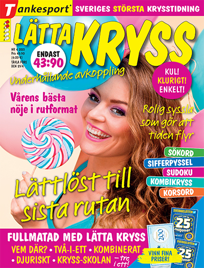 Cover for Lätta kryss