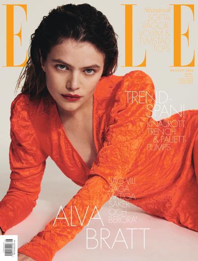 Cover for ELLE