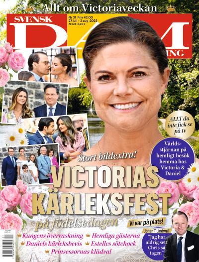 Cover for Svensk Damtidning