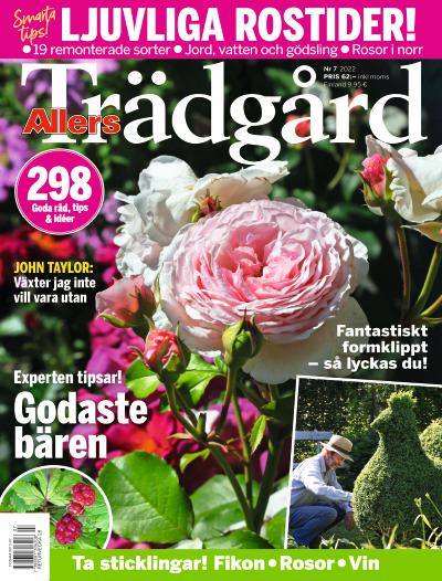 Cover for Allers Trädgård