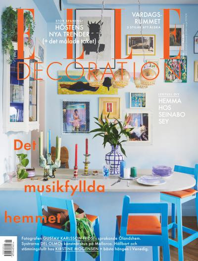 Cover for ELLE Decoration