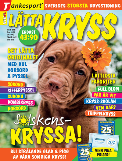 Cover for Lätta kryss