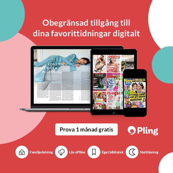 Pling - obegränsad tillgång till dina tidningar digitalt. Prova en månad gratis