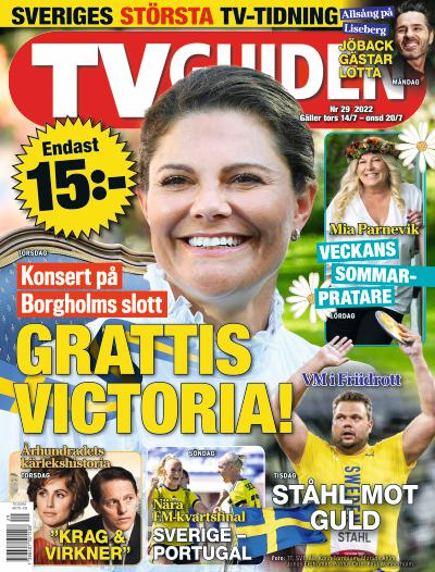 Cover for TV-Guiden