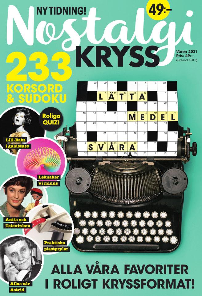 Cover for Nostalgikryss 2021