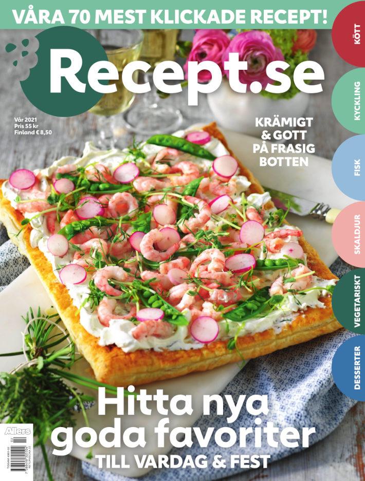 Cover for Recept.se vår 2021