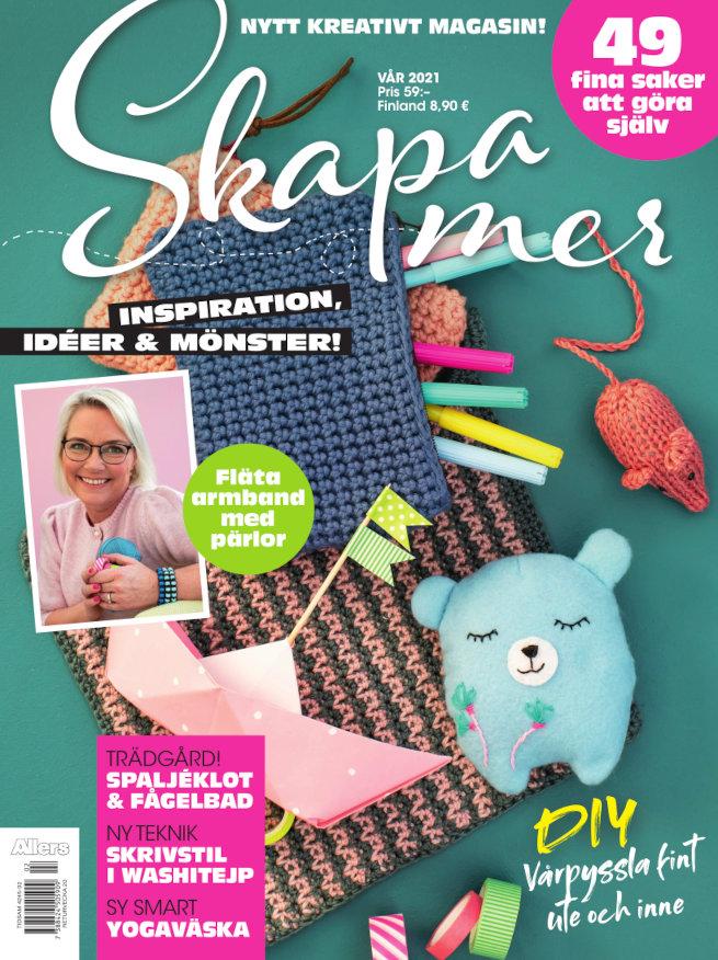 Cover for Skapa mer våren 2021