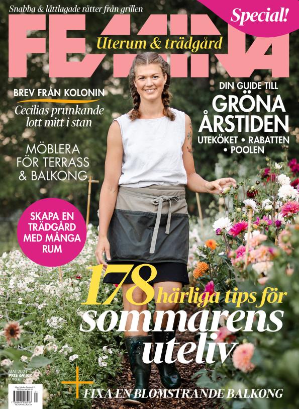 Cover for Femina Uterum & trädgård