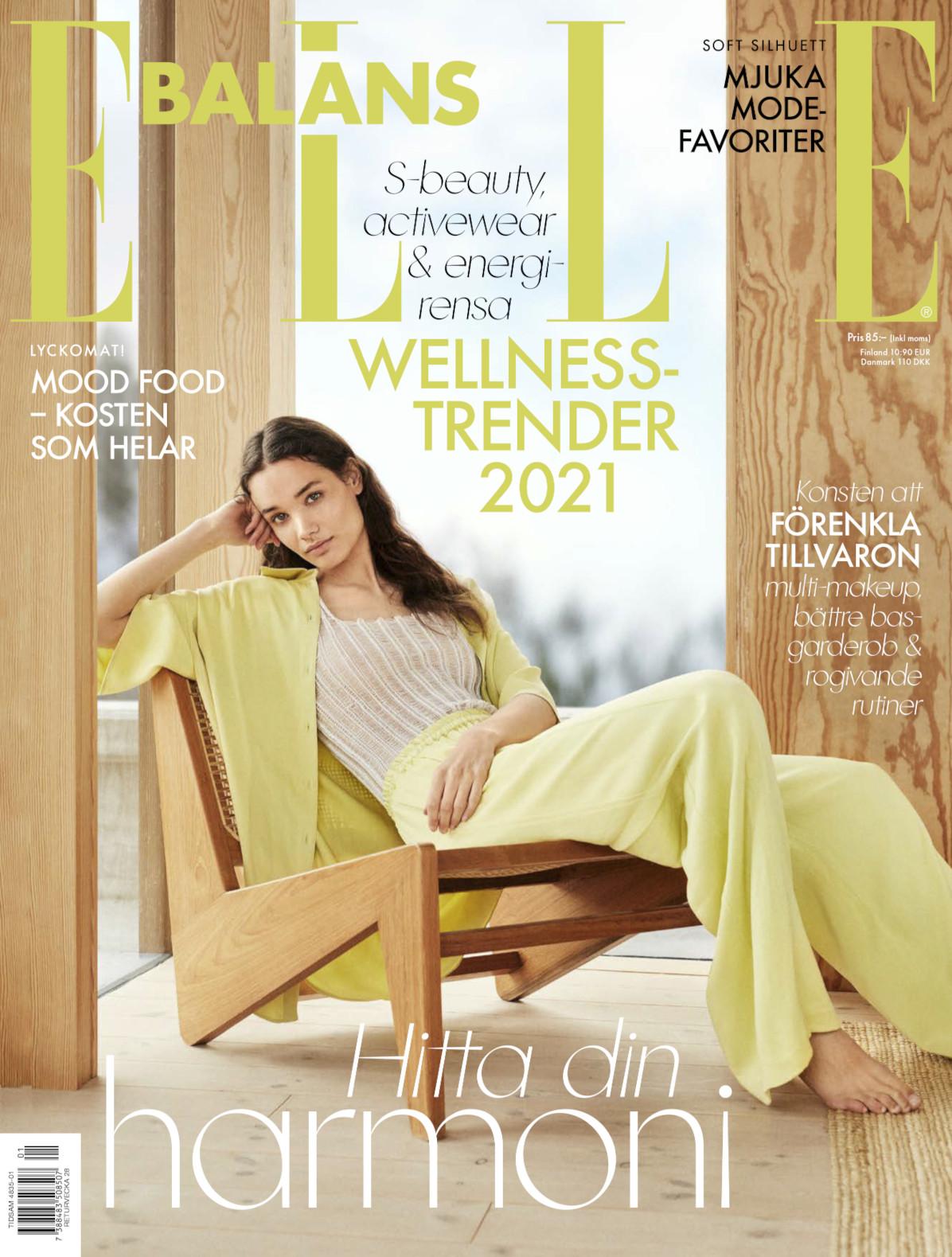 Cover for ELLE Balans