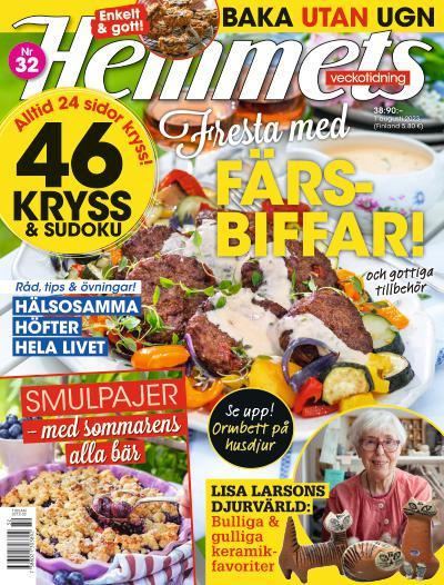 Hemmets Veckotidning cover