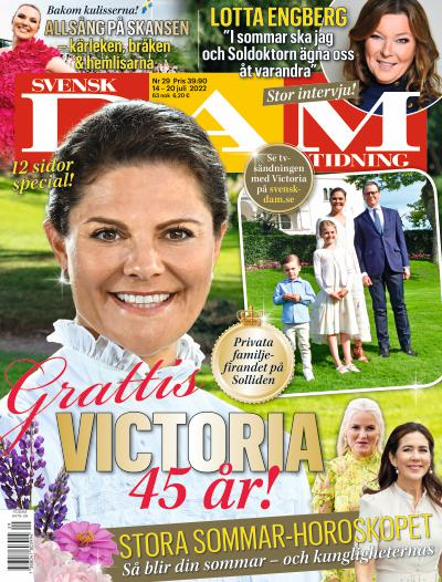 Svensk Damtidning cover