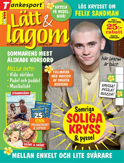 tidningsframsida för Lätt & Lagom