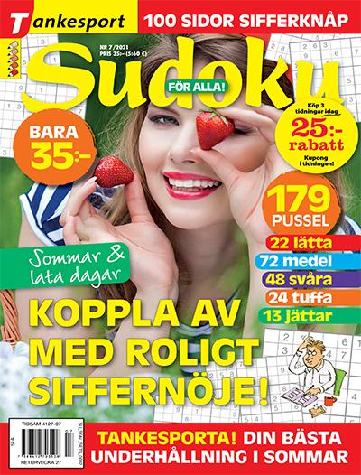 tidningsframsida för Sudoku för alla
