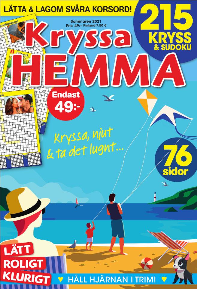 Cover for Kryssa Hemma sommar 2021