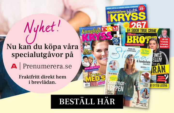 Nyhet - Nu kan du köpa specialutgåvor på prenumerera.se