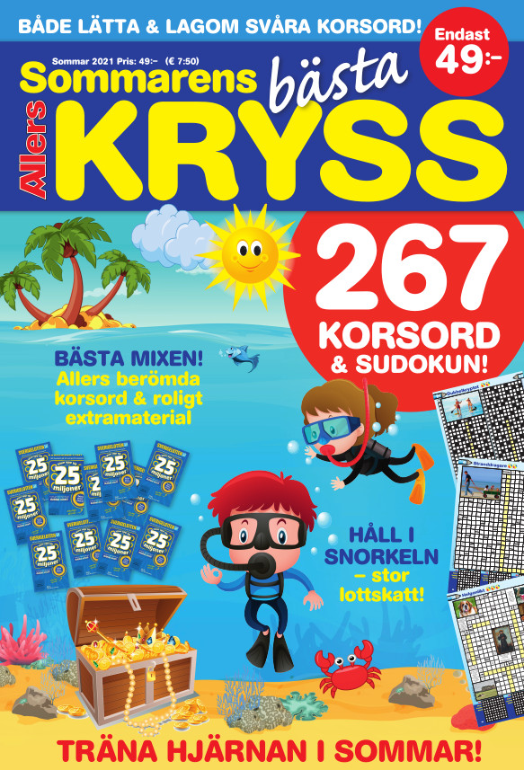 Sommarens bästa kryss 2021 cover
