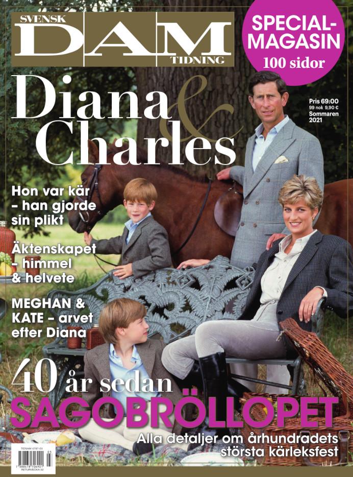 Diana & Charles 40 år efter cover