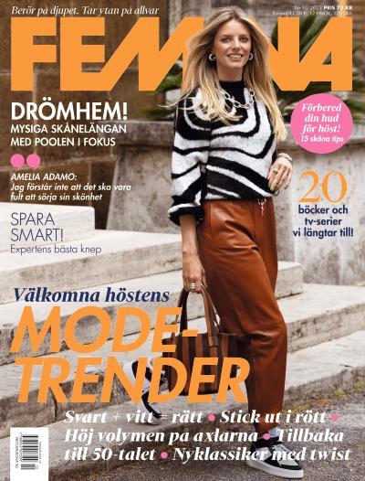tidningsframsida för Femina