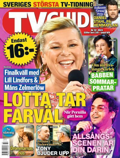 tidningsframsida för TV-Guiden